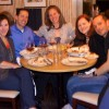 2011 Dinner with Danny Susannah Regina Christine 4