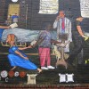 73 Cents Mural - Nurse turned away from the patient
