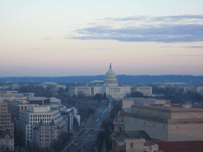 US Capitol Sunset