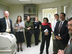ONC and Kaiser Permanente staff on Process Walk