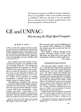 """""""Get a system - not just a computer"""": GE and UNIVAC: Harnessing the High Speed Computer (1954)"""