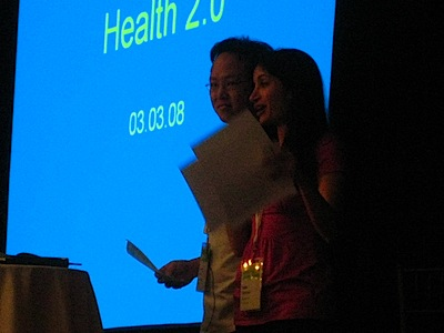"""What about one to many or many to many?"" at Health 2.0"