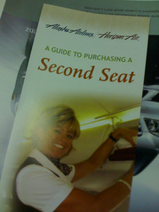 Guide to a Second Seat Alaska Airline