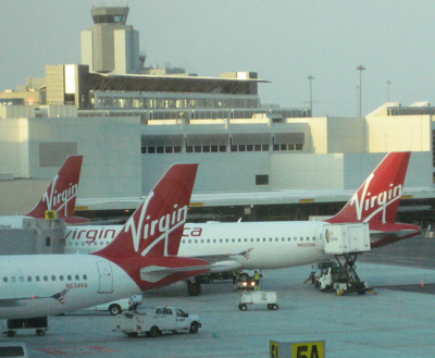 VirginAmerica Planes SFO