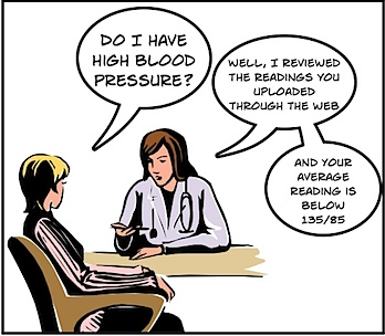 hypertension cartoon