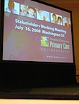 PCPCC Meeting Washington DC