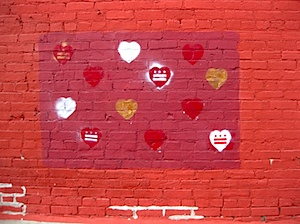 DC Heart Flags