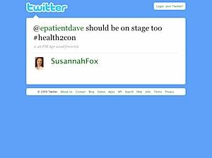 Twitter - SusannahFox- <a href=
