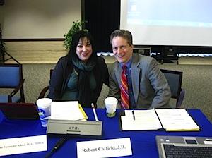 Jane and Bob at NCVHS Testimony