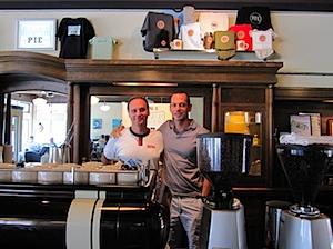 David and Ted, Fuel Coffee Montlake