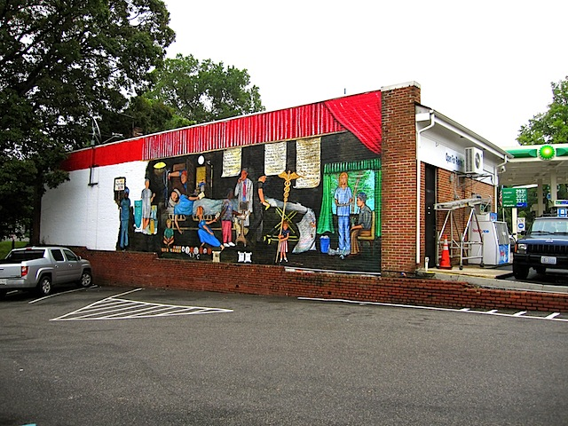 73 Cents Mural