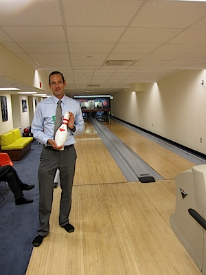 Bowling at the White House