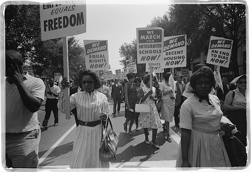 Civil Rights Protesters, Washington DC