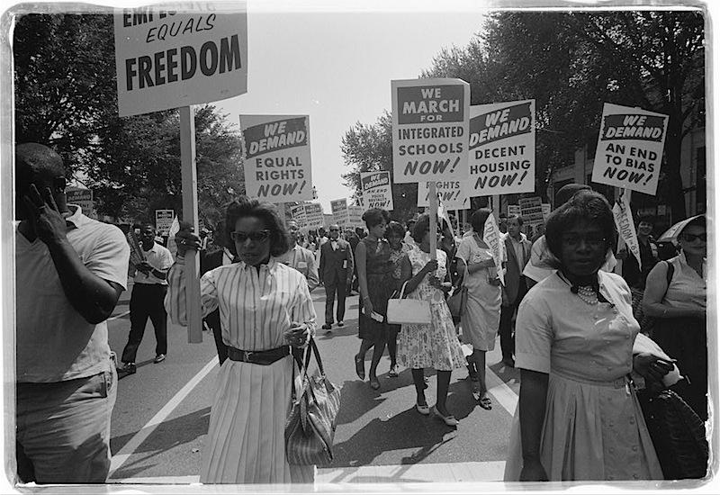 Civil Rights Protesters, Washington DC