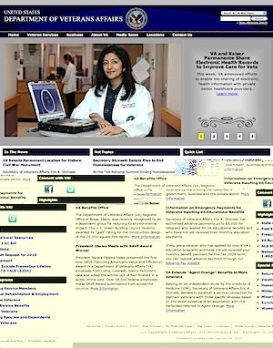U.S. Department of Veterans Affairs (20100107)