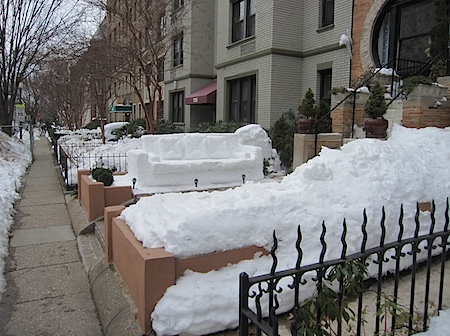 Snow Couch - Dupont Circle