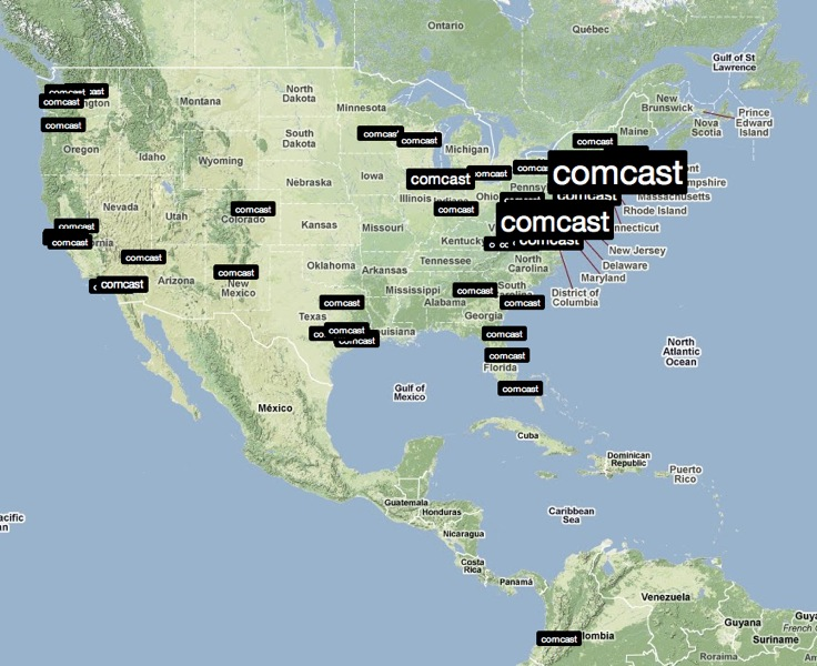 Comcast Outage Map Houston   Indiana Map