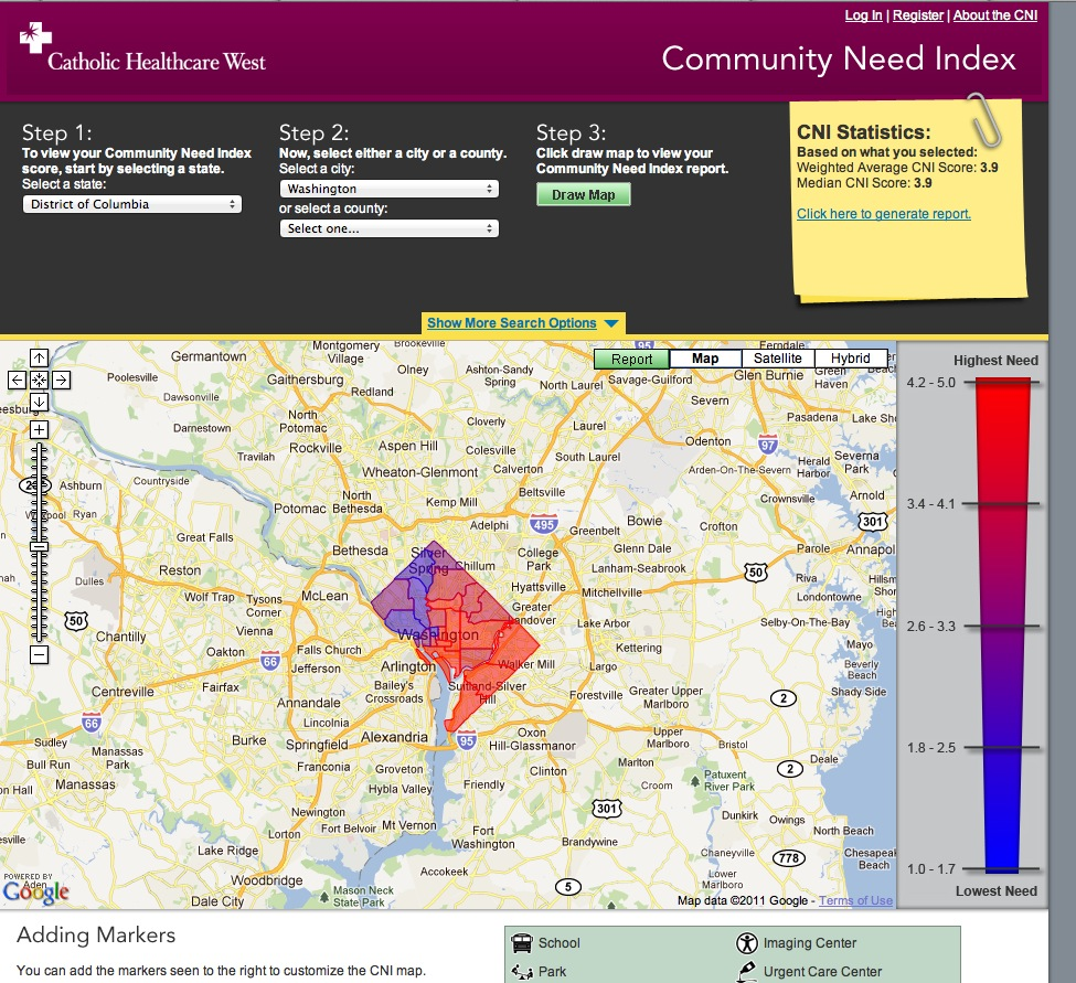 Community Need Index - is this what Health 3.0 is?