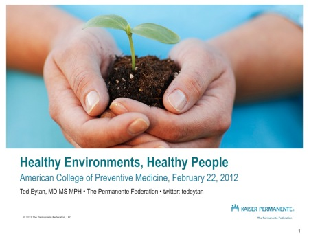 Not using stock photography: Better images to talk about green in health care #greenHC