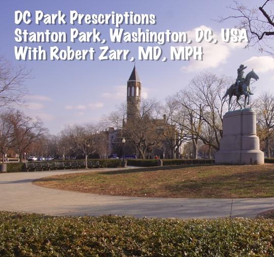 Physicians Rating and Prescribing Parks : The DC Park Prescription Podcast