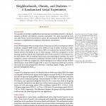 Now Reading: Neighborhoods, Obesity, and Diabetes - A Randomized Social Experiment