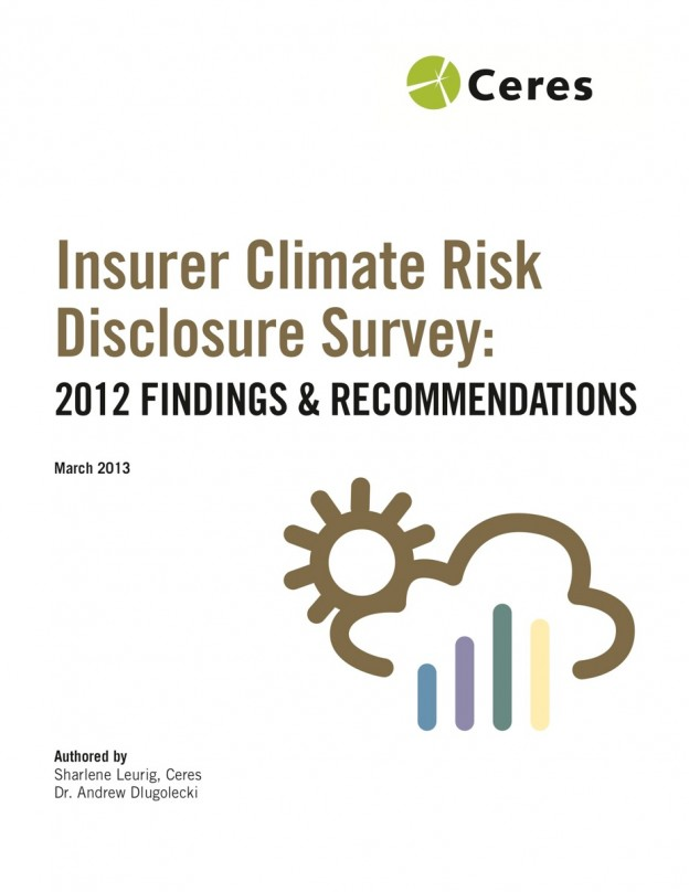 Now Reading: Addressing Climate Change among Insurers, some are doing more than others