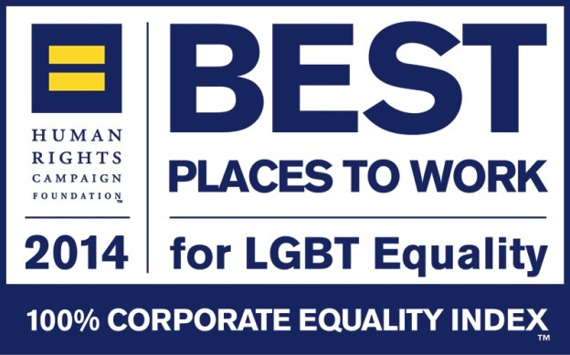 A perfect score on the Human Rights Campaign Corporate Equality Index again for 2014