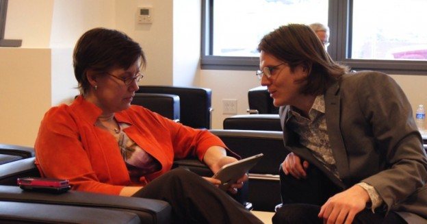 Mentors around every corner: Holly Potter and Diane Gage-Lofgren