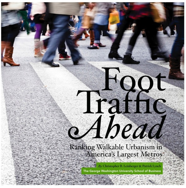 Just Read: Walkable Urban Places - Boston poised to surpass Washington, DC?