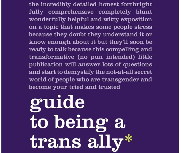 Just Read: Guide to being a trans ally - Straight for Equality - PFLAG National