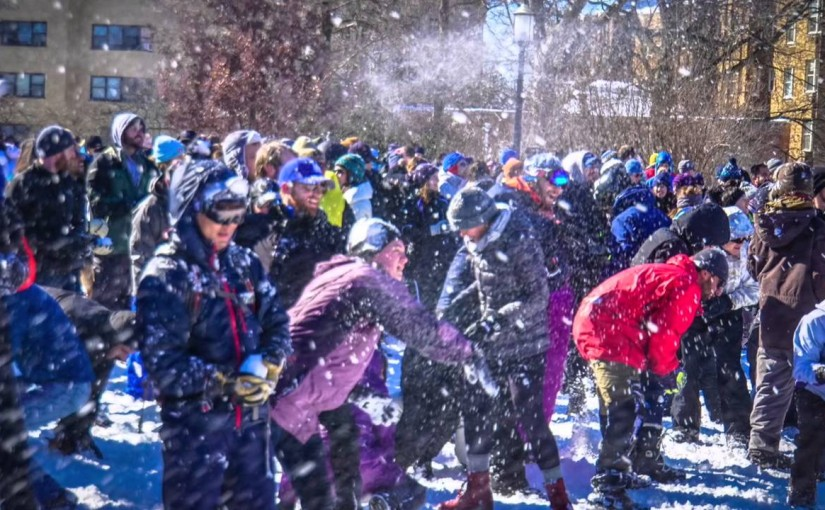 Video Friday: Population growth = more snowball fights, Washington, DC USA