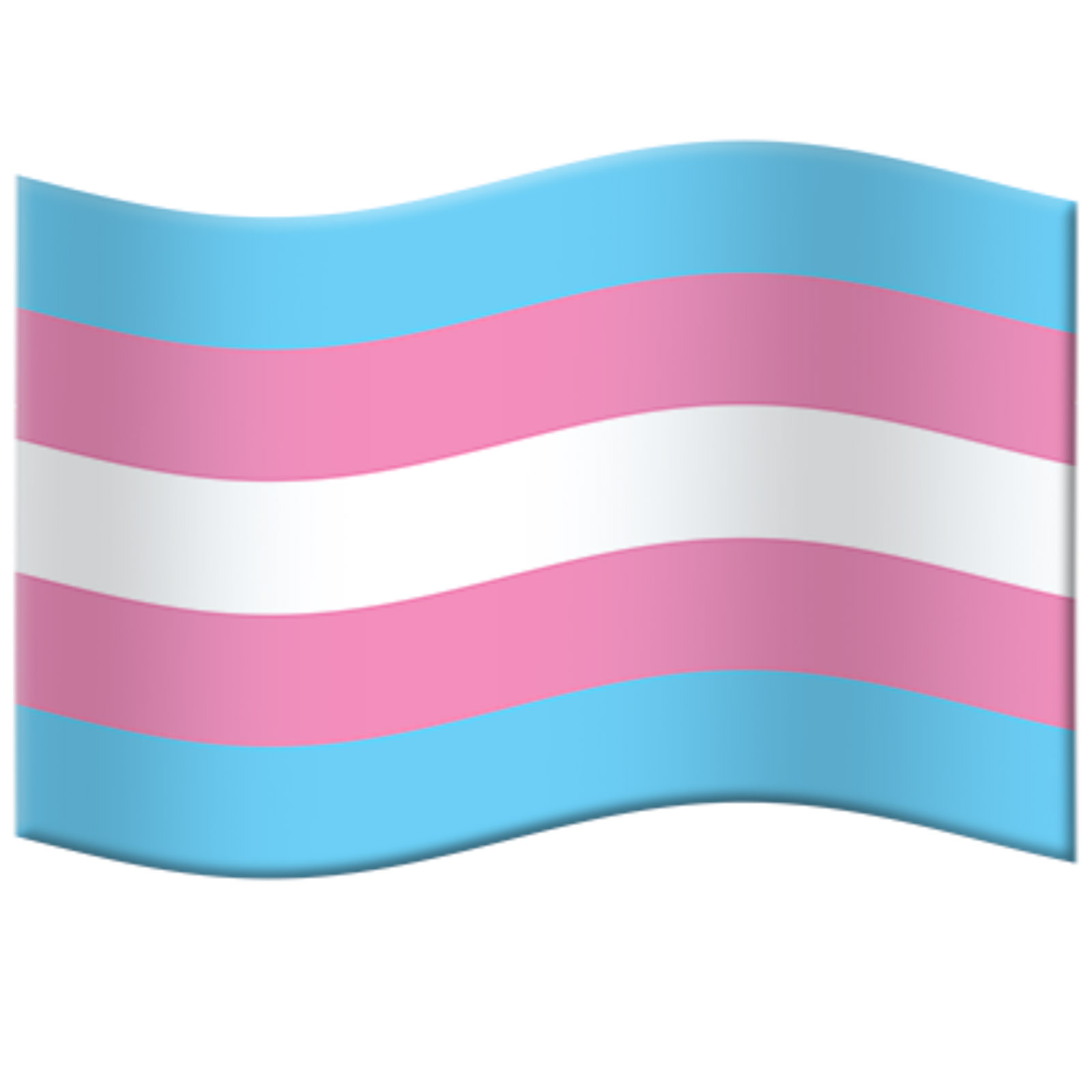 Transgender Pride Flag Emoji – FINAL FOR 2020!